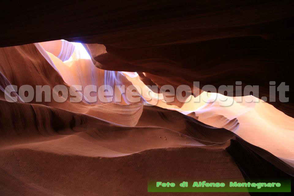 Le luci dell'Antelope Canyon (USA) – FOTOGALLERY CONOSCEREGEOLOGIA.IT