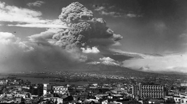 72 Anni fa l'ultima eruzione del Vesuvio