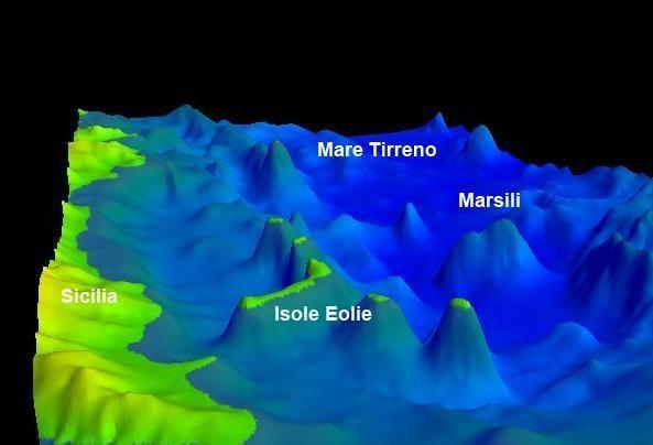 Rischio tzunami e vulcanico: il Marsili