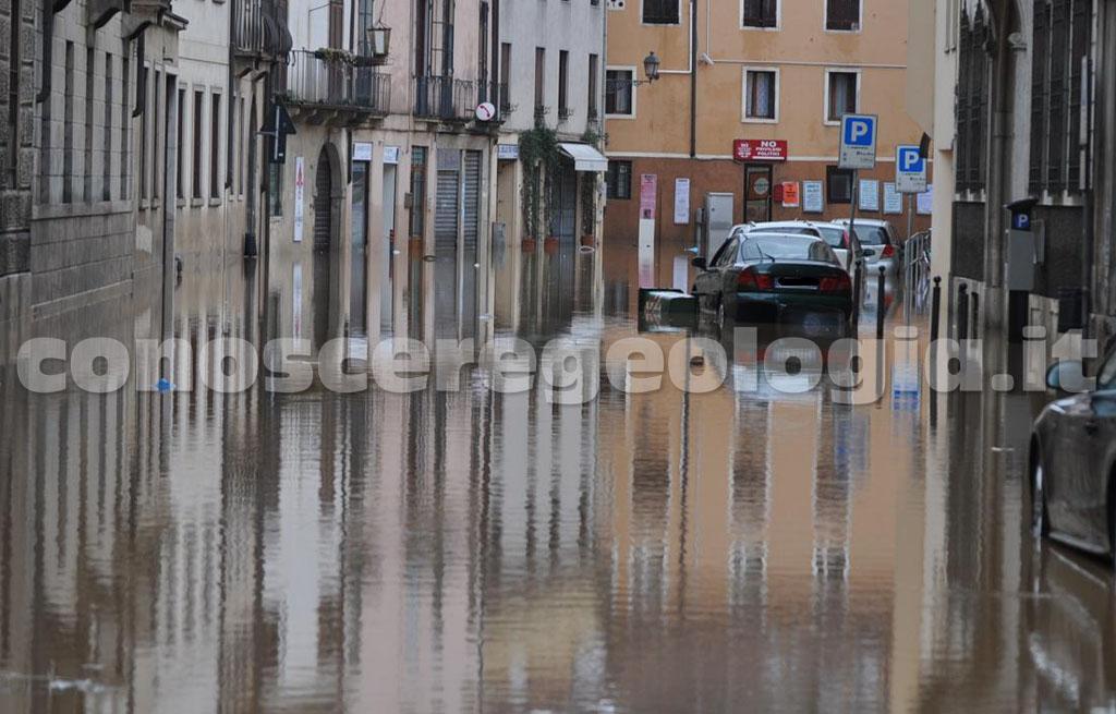 Il rischio idrogeologico idraulico da inondazione