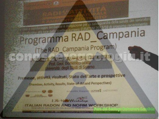 Radon: a Salerno il convegno sul tema Radioattività naturale ed ambiente costruito – VIDEO e FOTOGALLERY