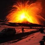 Il radon per lo studio dell'Etna