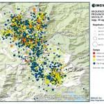 Sequenza sismica province di Rieti, Perugia, Ascoli P., L'Aquila e Teramo: aggiornamento ore 08.00 – COMUNICATO STAMPA INGV