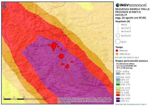 """Terremoto Italia centrale, Curcio: """"L'Italia è un paese sismico, occorre continuare ad investire."""""""