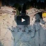 TERREMOTO ITALIA CENTRALE, Video con drone – VIDEO DEI VIGILI DEL FUOCO