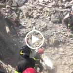 TERREMOTO REATINO, Immagini dei soccorsi dei Vigili del Fuoco – VIDEO VVFF