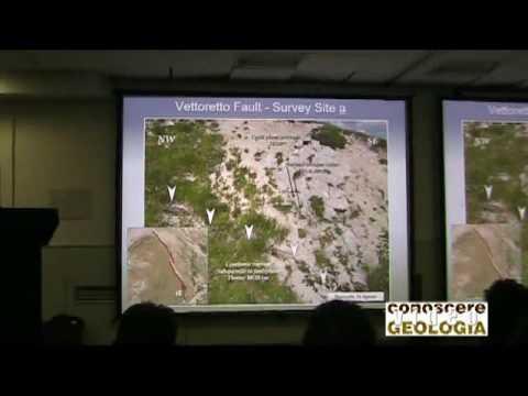VIDEO CONOSCEREGEOLOGIA – Terremoto Accumuli, i controlli strutturali della sequenza sismica