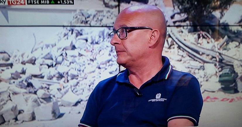 """Terremoto centro Italia, Peduto a SKY TG24: """"Occorre la conoscenza del sottosuolo se vogliamo conseguire una mitigazione del rischio sismico in Italia"""""""