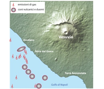 Il Vesuvio sottomarino