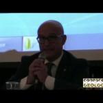 Conferenza sul rischio Idrogeologico, intervento di Peduto, presidente del CNG – VIDEO CONOSCEREGEOLOGIA