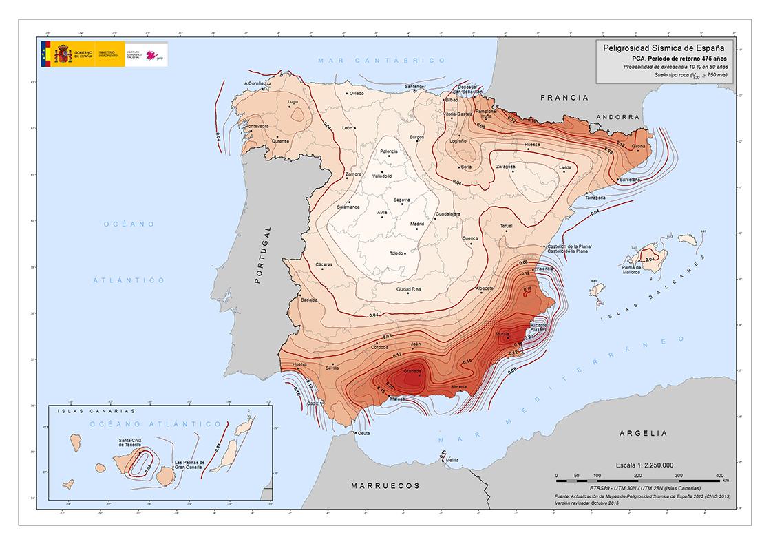 Spagna, si conclude il XI Congresso di Geologia: preoccupazione per la sottovalutazione della pericolosità sismica