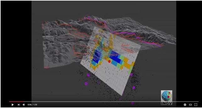 In 3D la faglia sorgente del terremoto di Amatrice, VIDEO INGV – NOTA STAMPA INGV