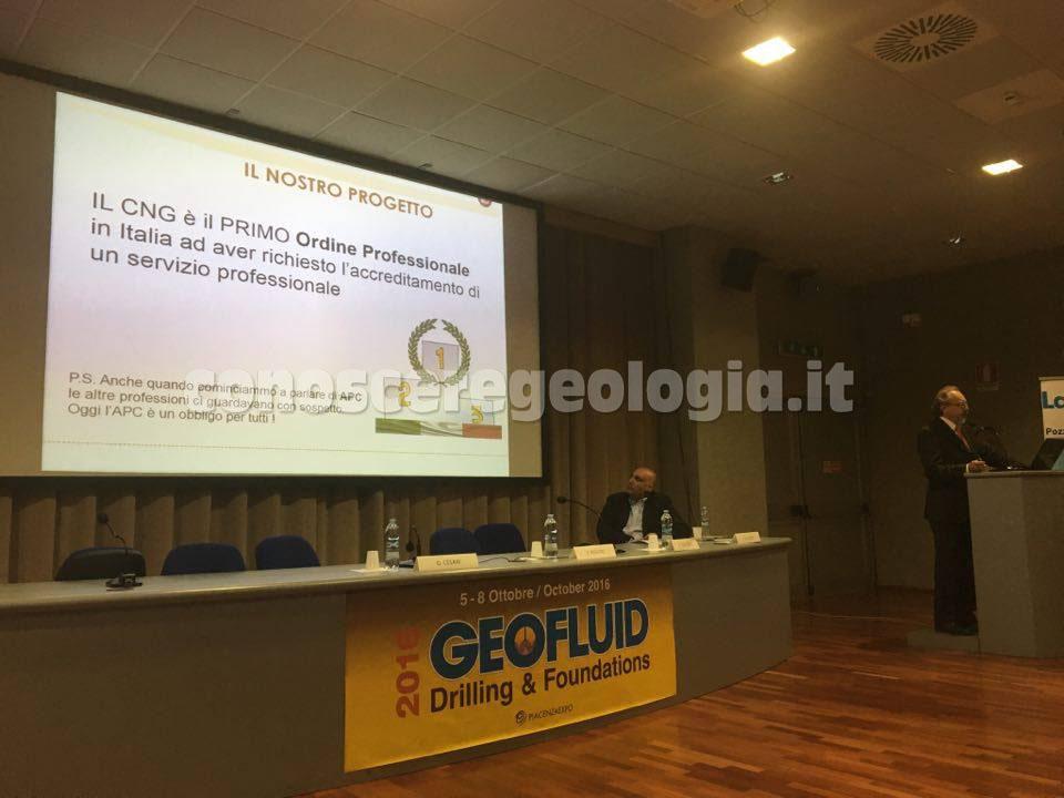 Geologi al convegno su indagini geognostiche e prove in sito