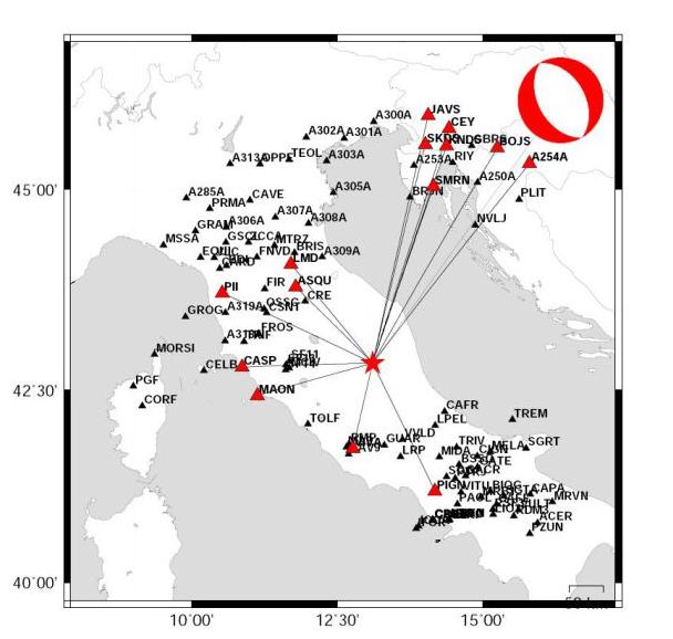 Sequenza sismica in Italia centrale: aggiornamento del 30 ottobre 2016, ore 10:00