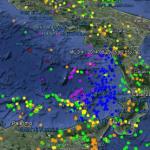 INGV: Terremoti profondi nel mar Tirreno, 28 e 29 ottobre 2016