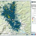 Sequenza sismica in Italia centrale: aggiornamento del 19 ottobre 2016