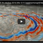 SHAKEMOVIE del terremoto del 26 ottobre 2016