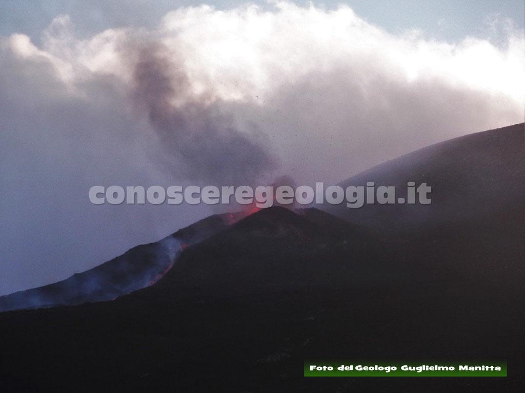 Stromboli: attività eruttiva, 24 aprile 2018 – VIDEO INGV