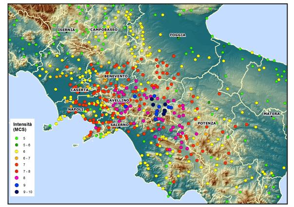 INGV: Open Day per il 36°anniversario del terremoto dell'Irpinia