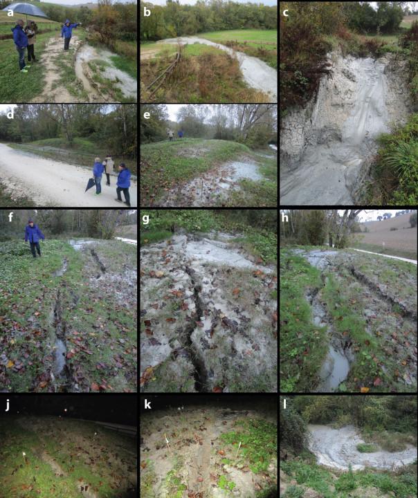 Sequenza sismica in Italia centrale: i vulcanelli di fango in provincia di Fermo