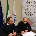 Firmato un Protocollo di Intesa tra il Consorzio di Bonifica Trigno e Biferno e l'Ordine Dei Geologi Della Regione Molise