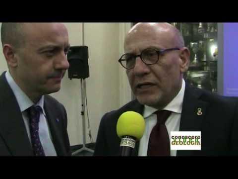 Premiazione senatori geologi della Campania, VIDEO INTERVISTA al Dr. RUSSO