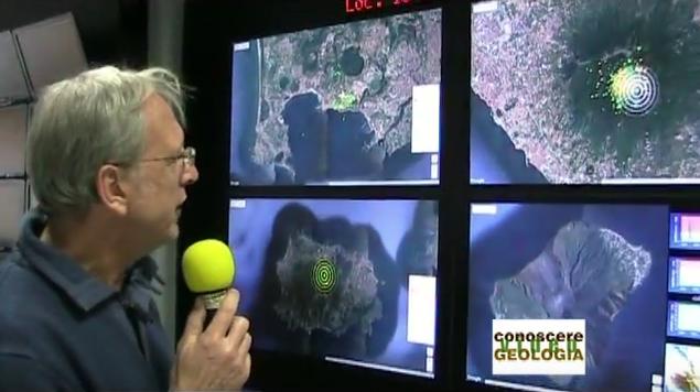 Osservatorio Vesuviano – De Natale illustra il sistema di monitoraggio – VIDEO CONOSCEREGEOLOGIA