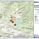 Aggiornamento eventi sismici in provincia dell'Aquila, 18 gennaio 2017