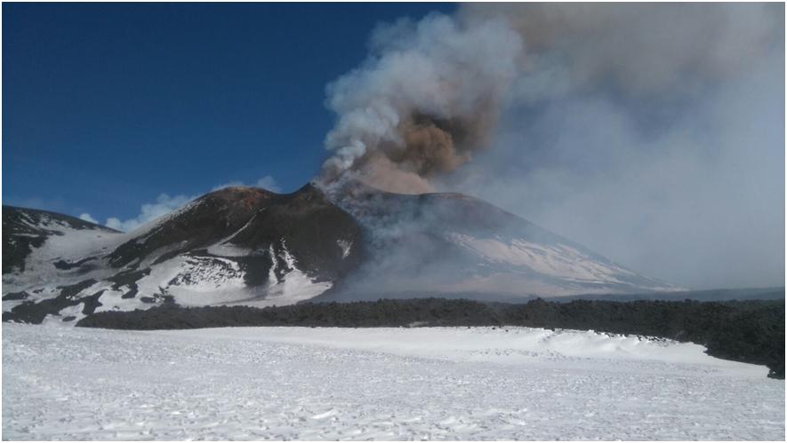 Etna : aggiornamento attività vulcanica del 28 febbraio 2017 (VIDEO INGV)