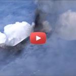 Etna, riprese video attività eruttiva al Nuovo Cratere di Sud-Est, 15 marzo 2017 – VIDEO INGV