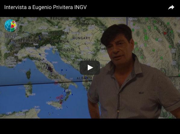 Osservatorio Etneo, intervista al Direttore  Eugenio Privitera – VIDEO INGV
