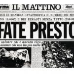 Il terremoto in Irpinia del 23 novembre 1980