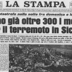 50 anni fa il terremoto del Belice in Sicilia