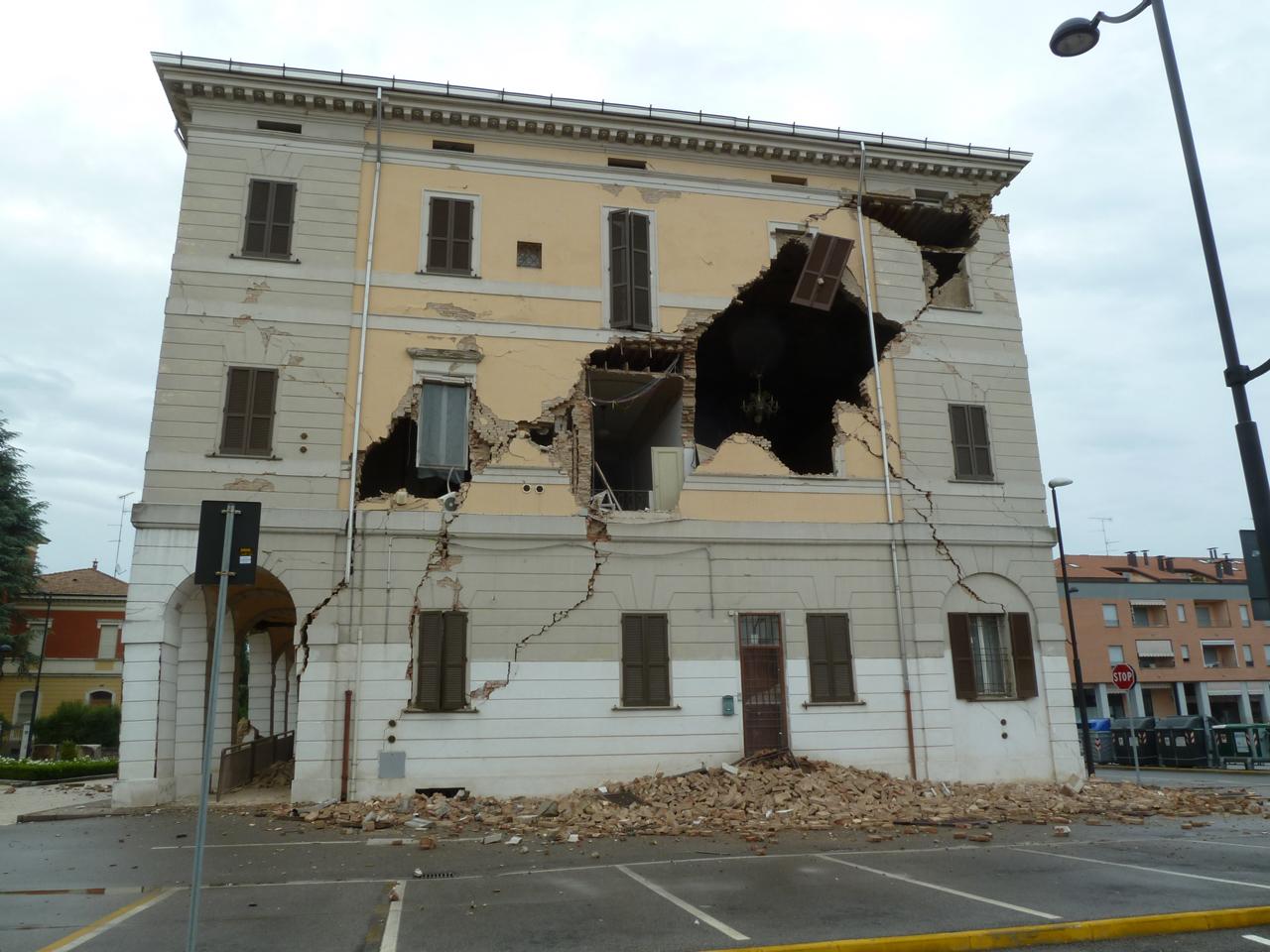6° anniversario terremoto Emilia Romagna