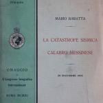 150° anniversario della nascita del sismologo Mario Baratta