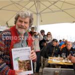 """I geologi presentano sul Monte Rite il volume """"Rischio sismico in Italia"""", ospite illustre Reinhold Messner – GUARDA IL VIDEO"""