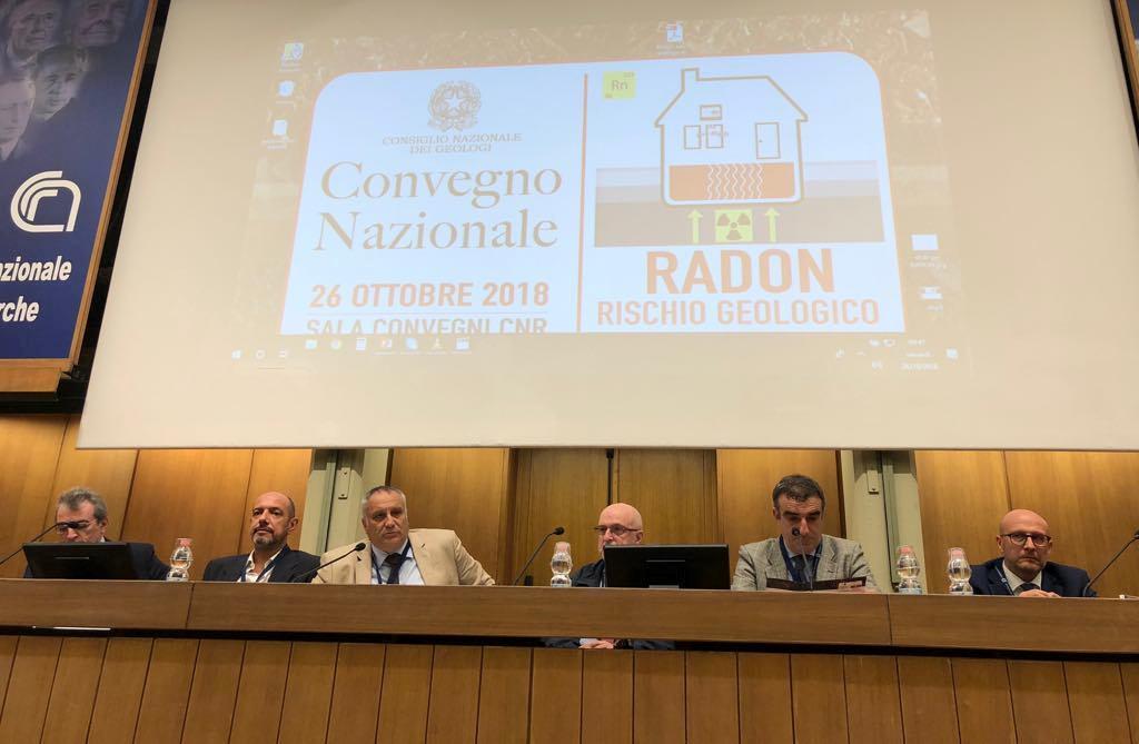 Convegno Radon rischio geologico dalla terra