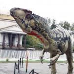 La valle dei Dinosauri, mostra evento a Salerno