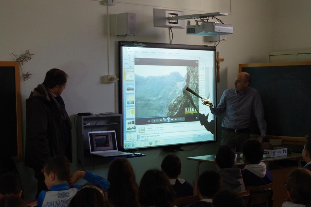 I geologi a scuola per diffondere la conoscenza del nostro pianeta