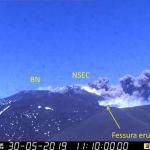 Nuova attività dell'Etna