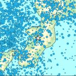 Rilevato da INGV un terremoto in Calabria di Magnitudo 3.8