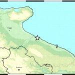 Forte terremoto a 4 km SE di Barletta (BT)