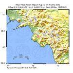 Terremoto di magnitudo ML 4.3 avvenuto ieri sera in Cilento