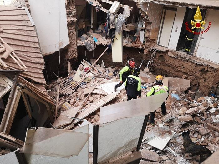 Crollo palazzina Catania, i geologi e il loro ruolo tra i VVFF