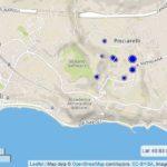 Eventi sismici nella zona dei Campi Flegrei in Loc. Pisciarelli