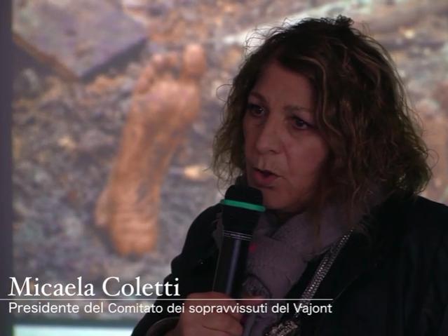 Disastro del Vajont, la testimonianza di Micaela Coletti
