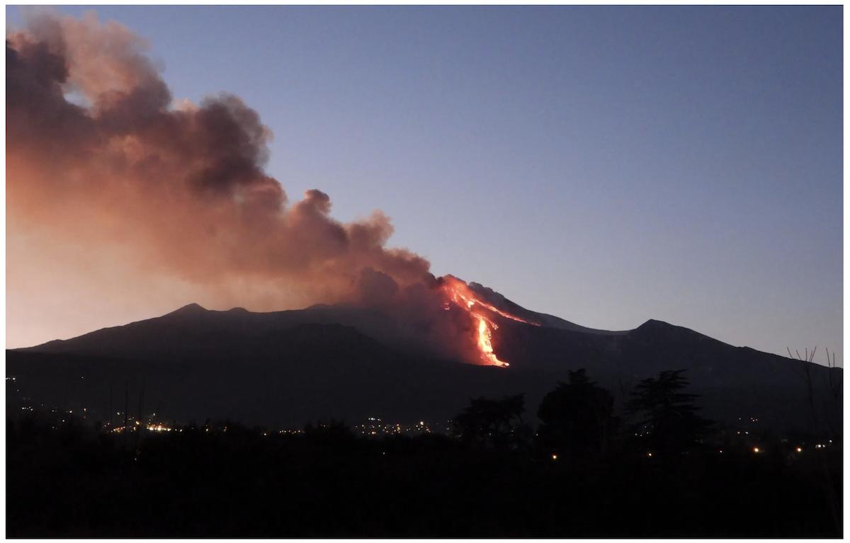 Etna: una nuova spettacolare eruzione