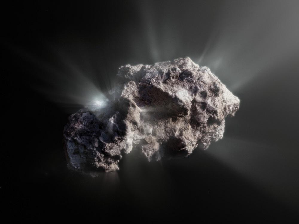 2I/Borisov, la cometa interstellare senza macchia e senza alterazioni