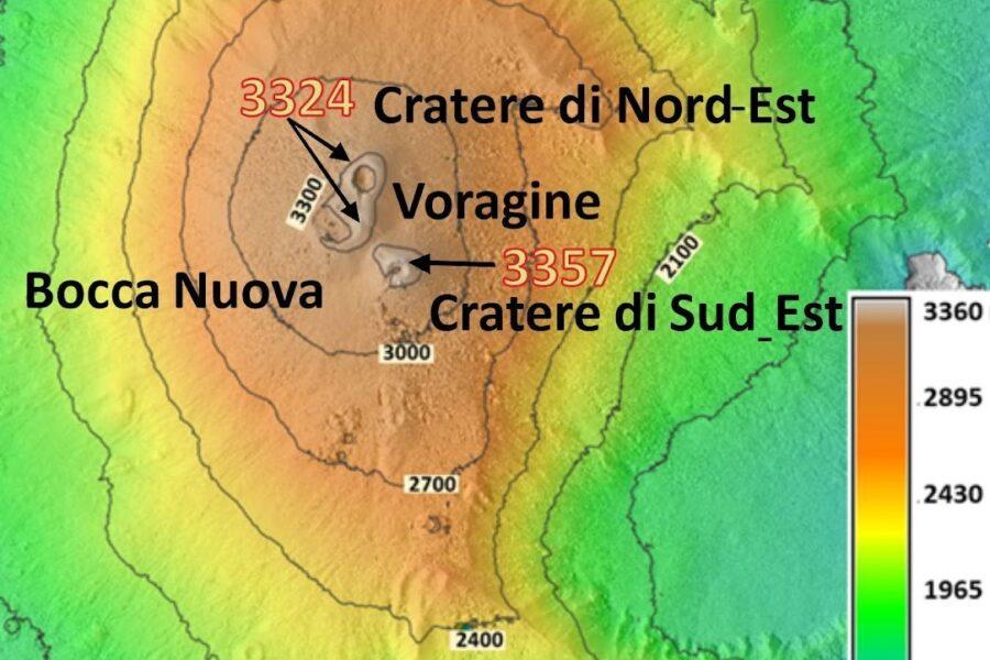L'Etna si supera. Nuovo record di altezza a 3357 metri