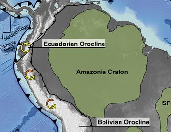Scoperta l'origine della forma arcuata delle Ande